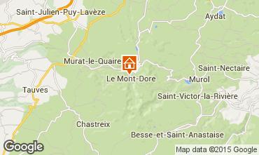 Karte Le Mont Dore Appartement 91221