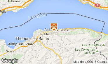 Karte Evian les Bains Appartement 102399