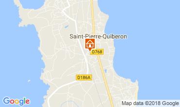 Karte Quiberon Haus 8772