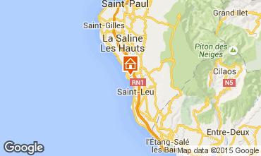 Karte Saint Leu Studio 9988