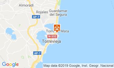 Karte Torrevieja Appartement 117796