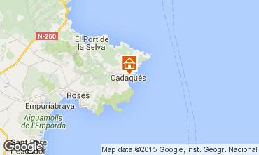 Karte Cadaquès Haus 40984