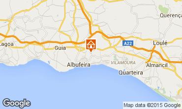 Karte Albufeira Villa 70524