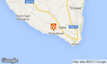 Karte Pescoluse Villa 79425