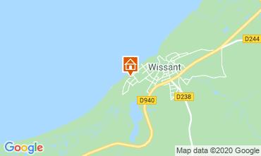 Karte Wissant Villa 106031