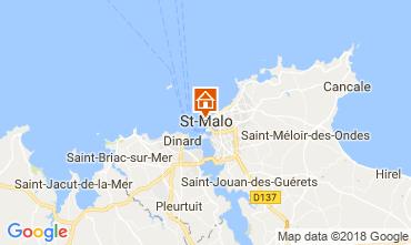 Karte Saint Malo Appartement 19262