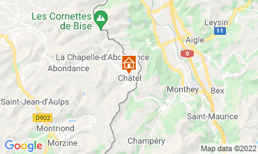 Karte Châtel Chalet 40517
