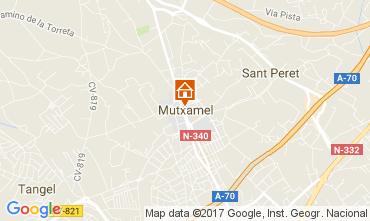 Karte Alicante Villa 112666
