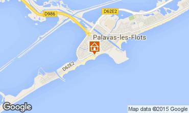 Karte Palavas-les-Flots Appartement 26554