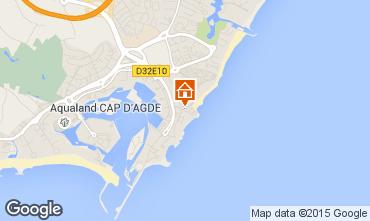 Karte Cap d'Agde Studio 6162