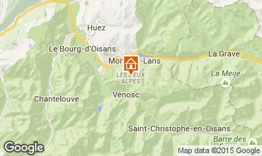 Karte Les 2 Alpes Studio 91147