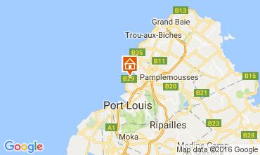 Karte Pamplemousses Haus 106266