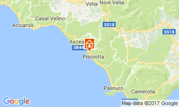 Karte Pisciotta Appartement 89629