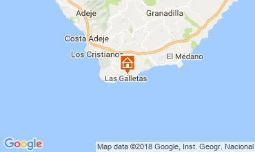 Karte Costa del Silencio Studio 107405