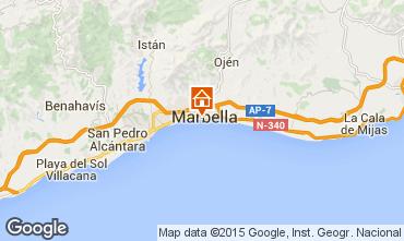 Karte Marbella Studio 49484