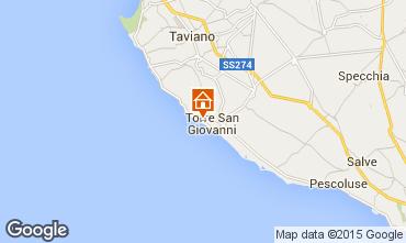 Karte Ugento - Torre San Giovanni Appartement 87709