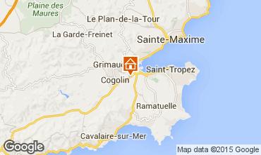 Karte Saint Tropez Studio 78705