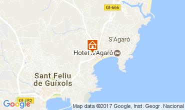 Karte S'Agaró Appartement 109160