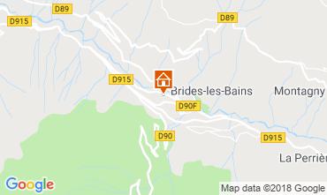 Karte Méribel Studio 51116