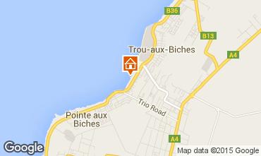 Karte Trou-aux-biches Bungalow 28556