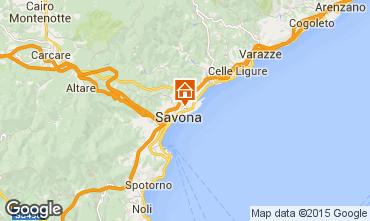 Karte Savona Appartement 46813