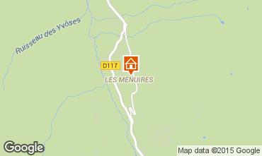 Karte Les Menuires Appartement 1631