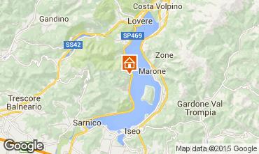 Karte Sarnico Appartement 73554
