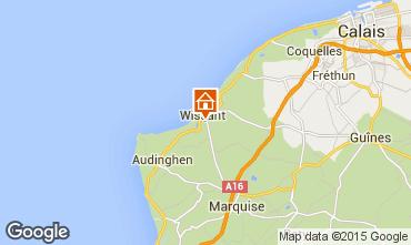 Karte Wissant Haus 87766