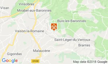 Karte Vaison la Romaine Haus 115901