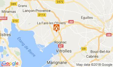 Karte Aix en Provence Villa 115046