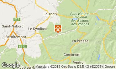 Karte Gérardmer Chalet 81072