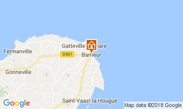 Karte Barfleur Ferienunterkunft auf dem Land 113106