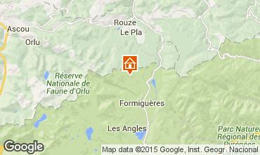 Karte Puyvalador Chalet 4885