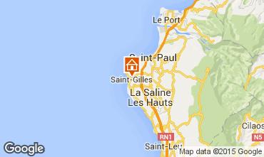 Karte Saint Gilles Studio 74488