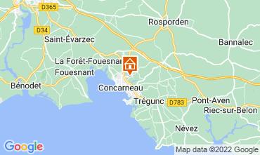Karte Concarneau Studio 8823
