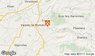 Karte Vaison la Romaine Villa 82681