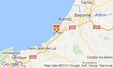 Karte Biarritz Appartement 67637