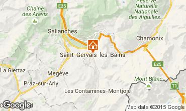 Karte Saint-Gervais-les-Bains Appartement 74408