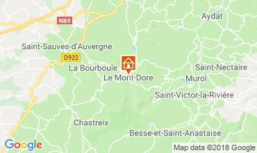 Karte Le Mont Dore Appartement 117145
