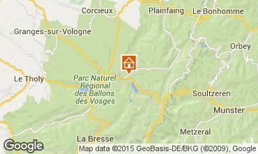 Karte Gérardmer Chalet 4601