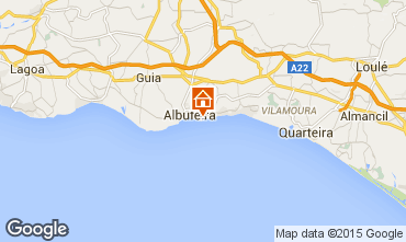 Karte Albufeira Appartement 78072