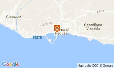 Karte Marina di Ragusa Appartement 107241