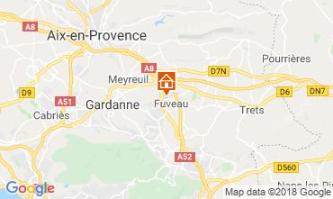 Karte Aix en Provence Villa 117062