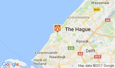 Karte Den Haag Ferienunterkunft auf dem Land 68087
