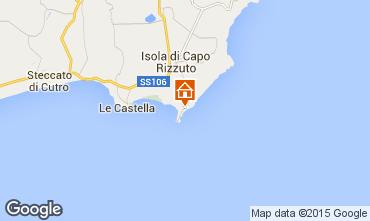 Karte Isola di Capo Rizzuto Appartement 68139
