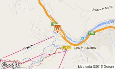 Karte Les Houches Appartement 1408