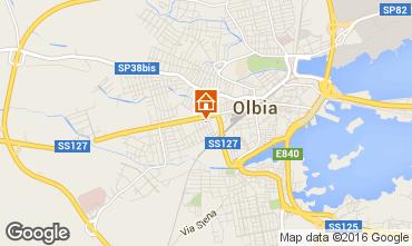 Karte Olbia Appartement 97542