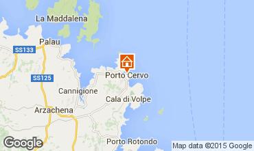 Karte Porto Cervo Appartement 87298