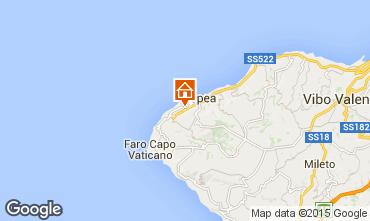 Karte Tropea Appartement 96981
