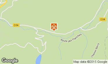 Karte La Bresse Hohneck Appartement 62238